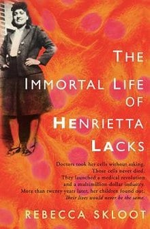 The Immortal Life Henrietta Lacks - Book