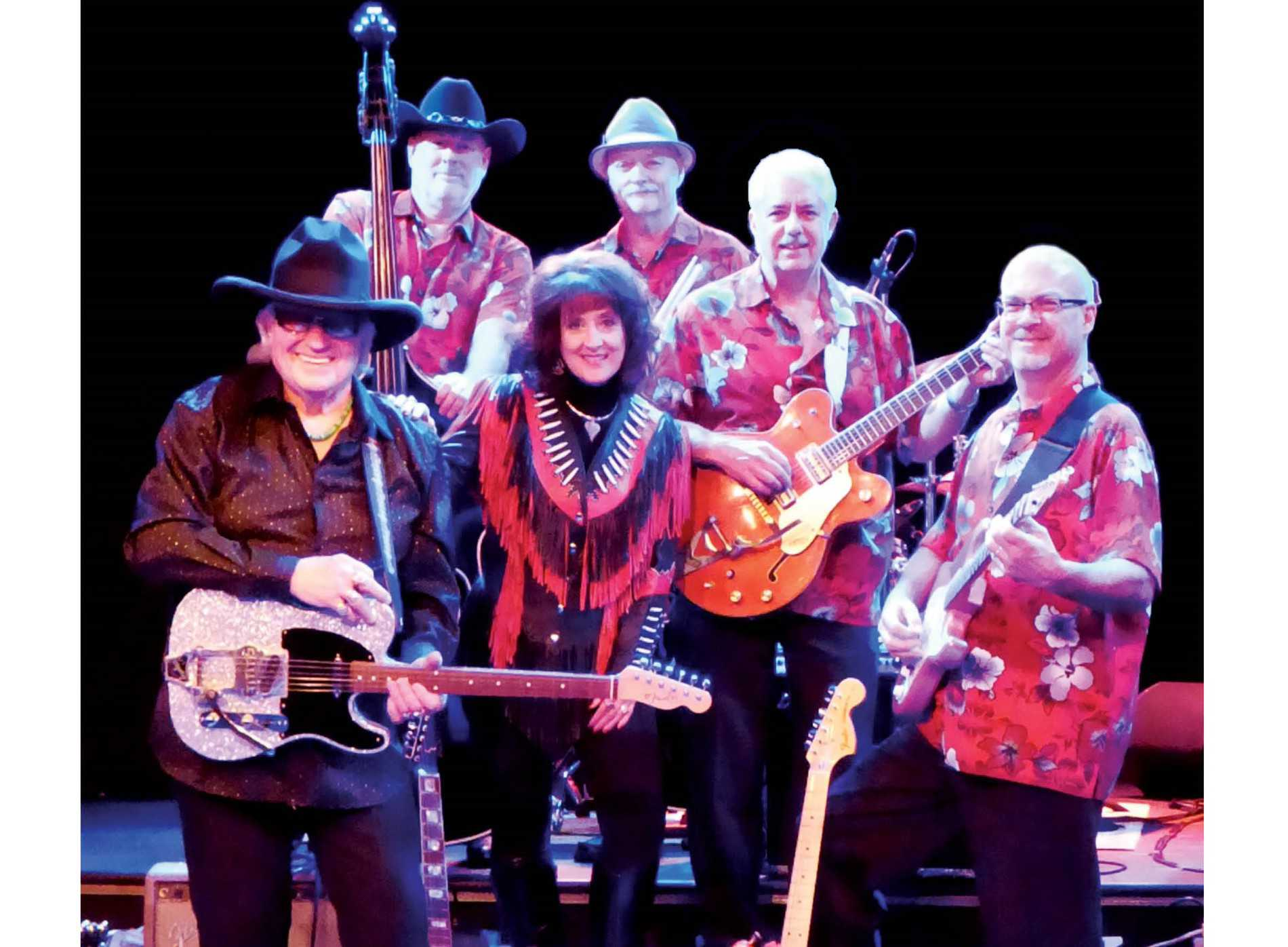 Sherwin & Pam Linton & The Cotton Kings - Classic Country Music