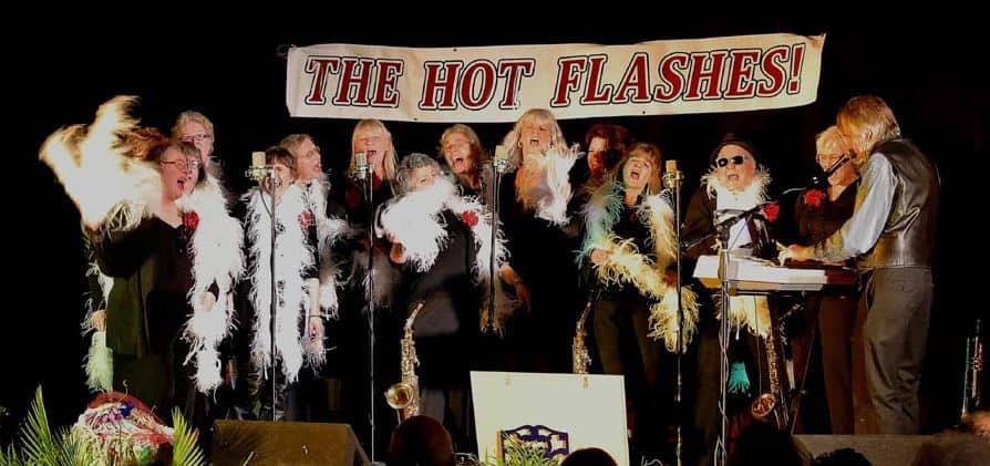 "The ""Hot Flashes"" Women's Vocal Group"